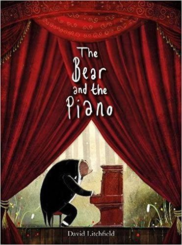 bear and piano