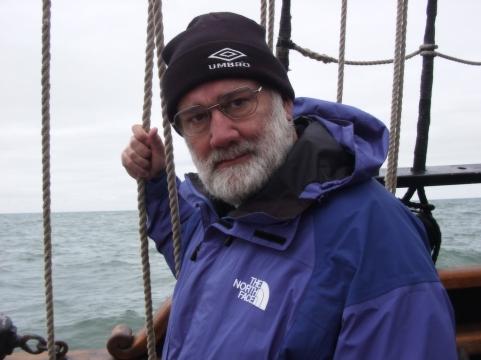 JS closeup at sea